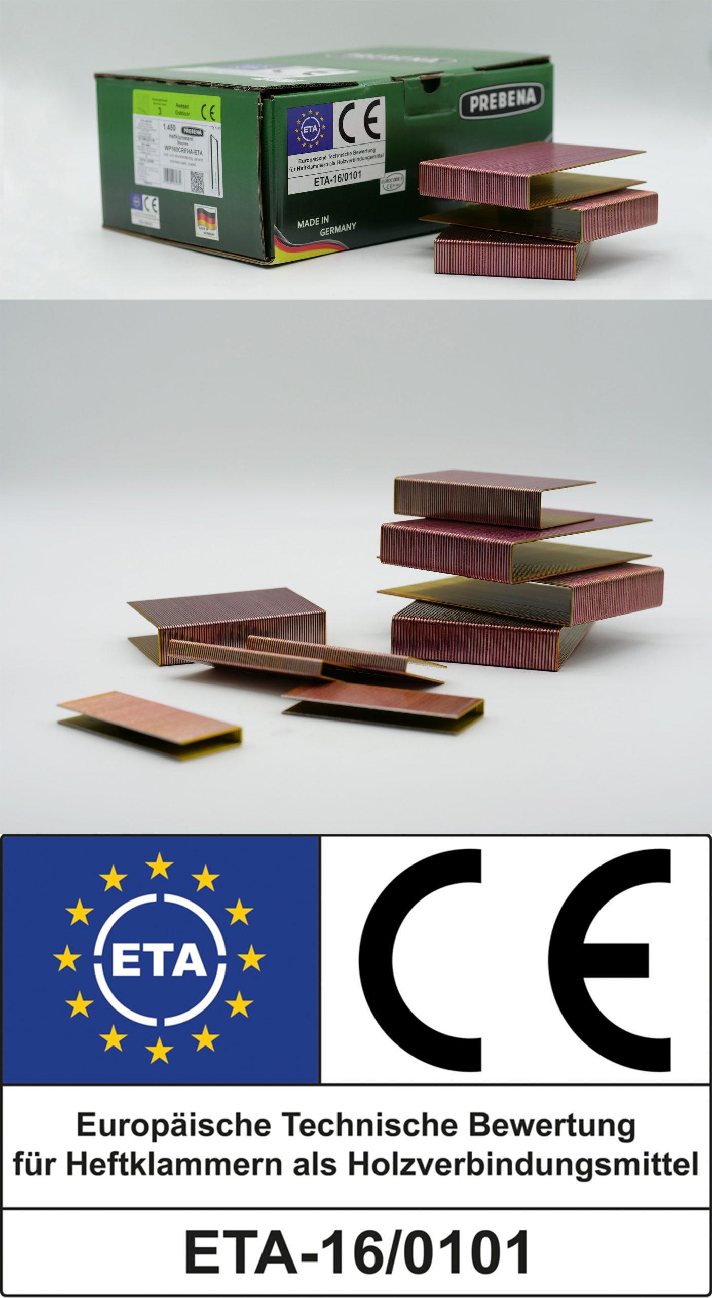 ETA Heftklammern als Holzverbindungsmittel